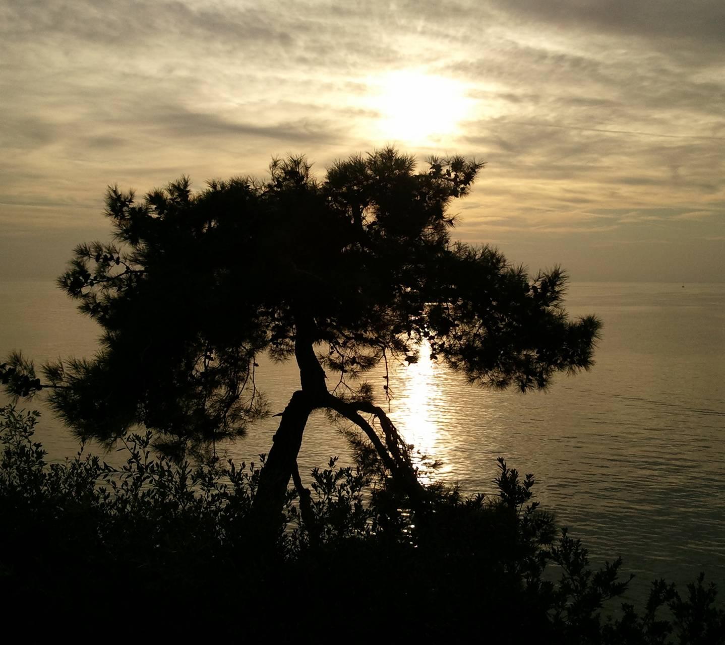 Sunset at Miramare