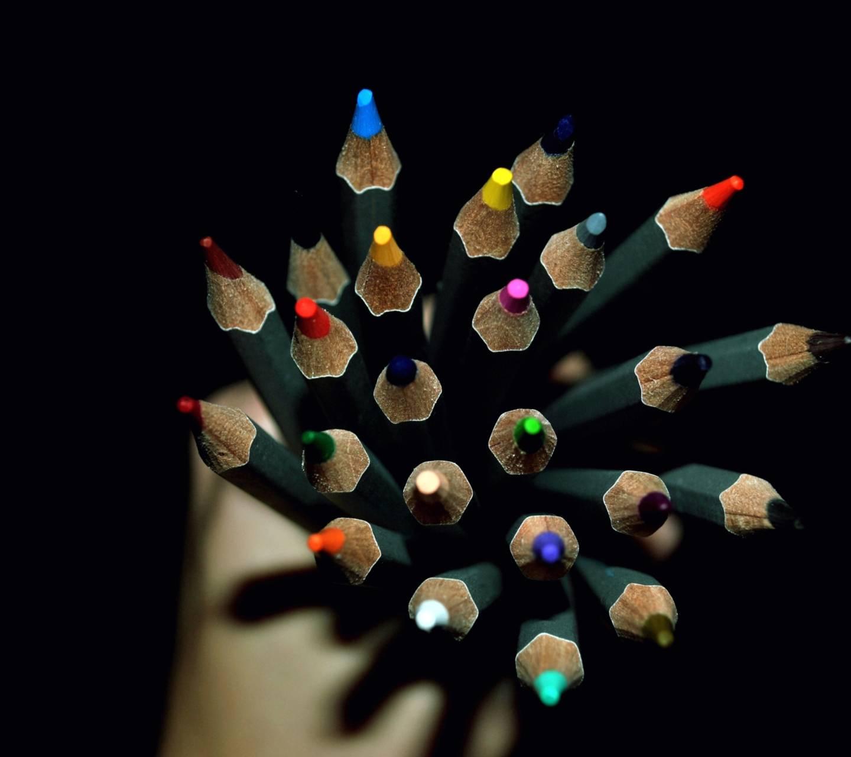 colorful pencile