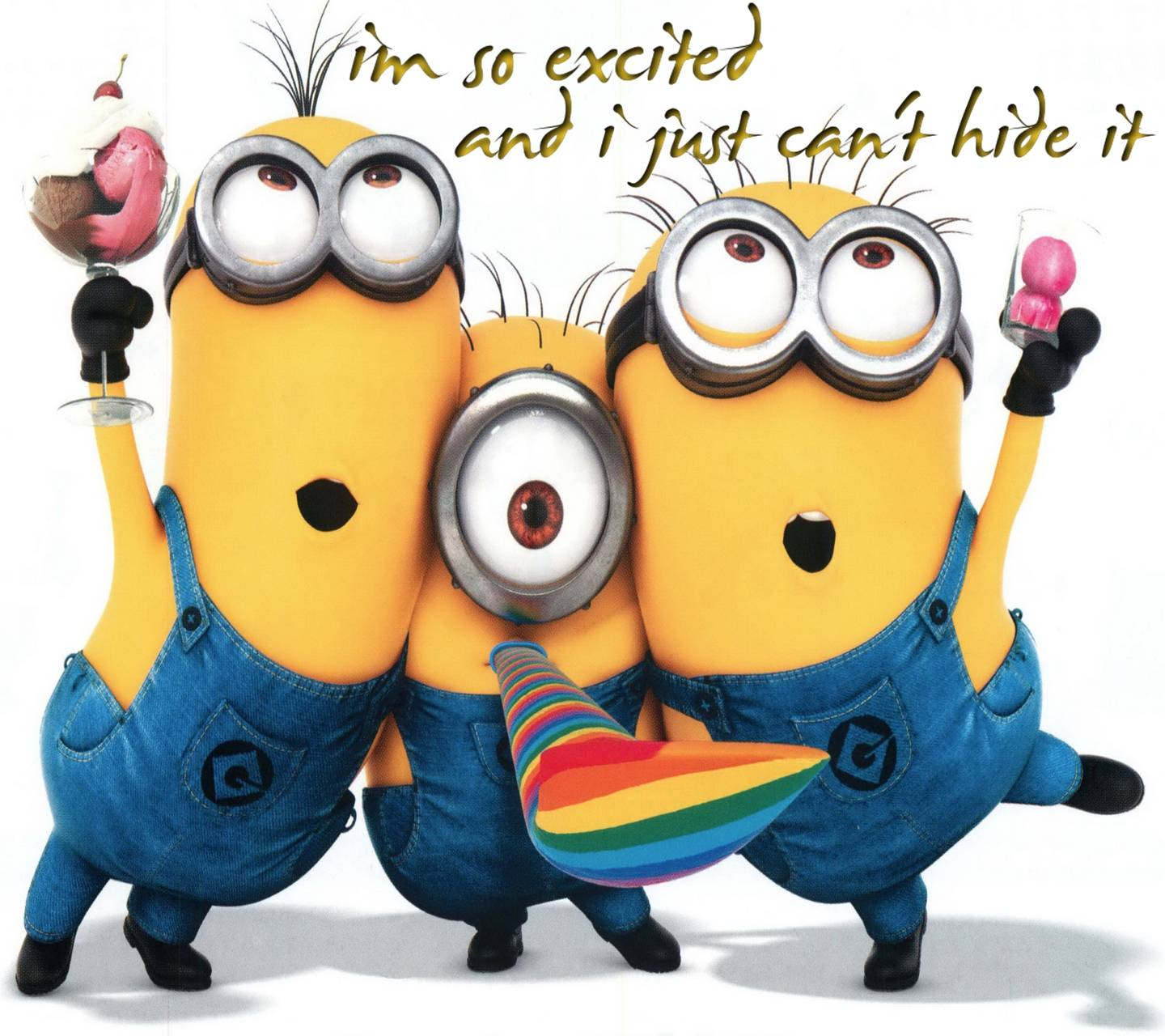 Im So Excited wallpaper by PerfumeVanilla - 1f - Free on ZEDGE™