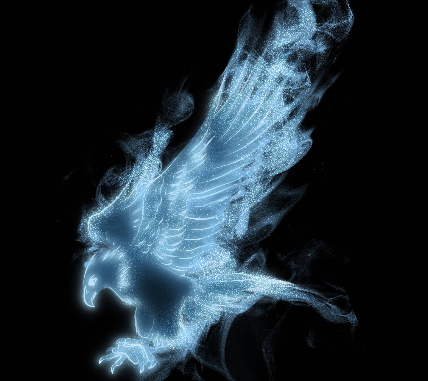 Eagle Flaming