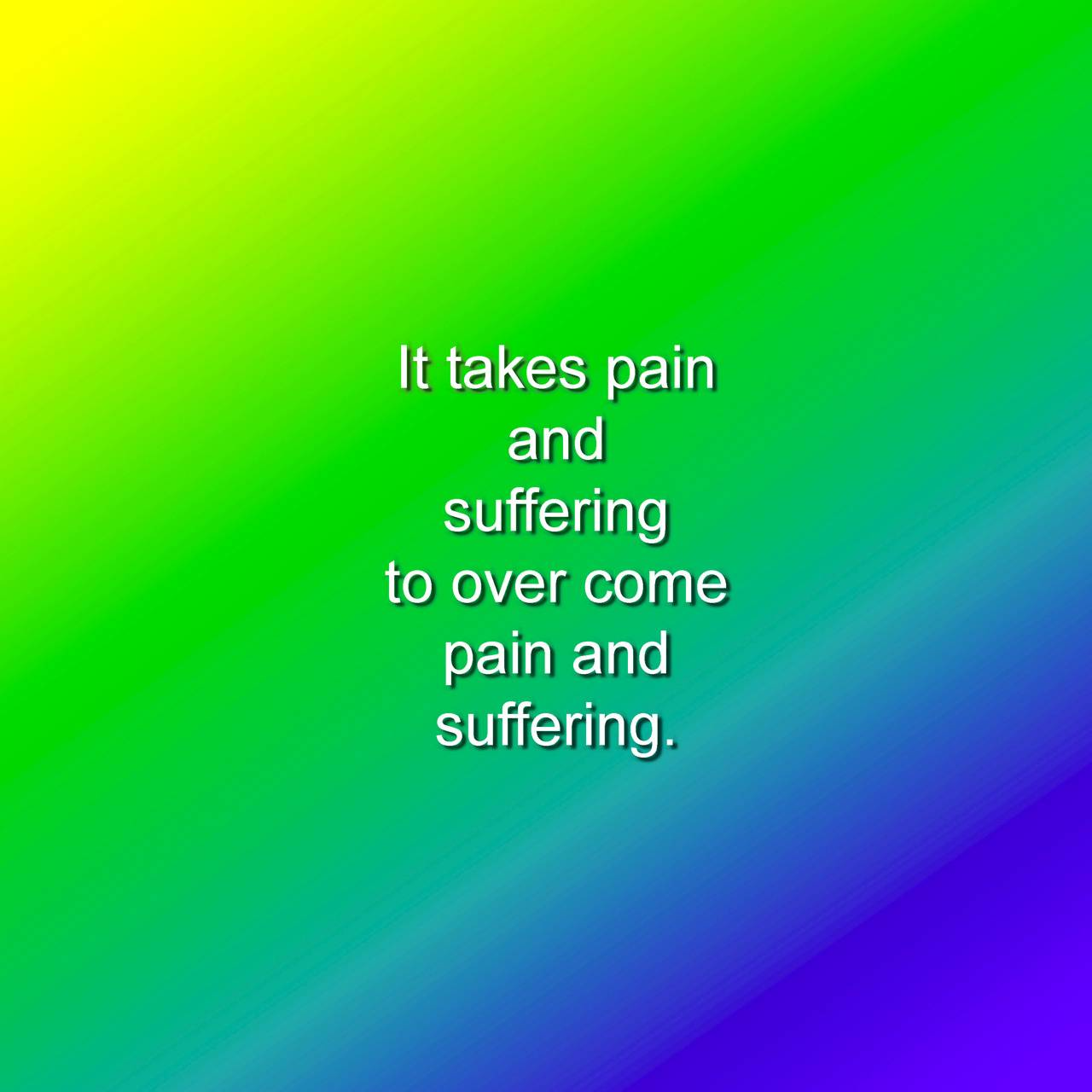 Pain and Suffering