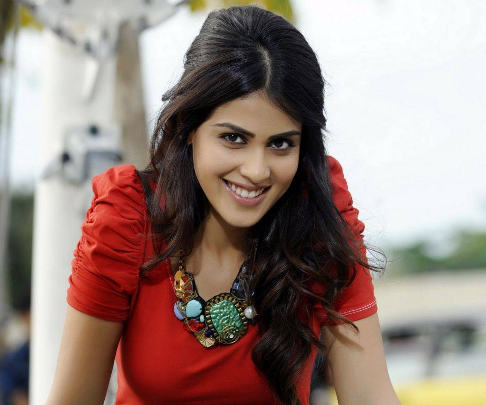 Cute Genelia With