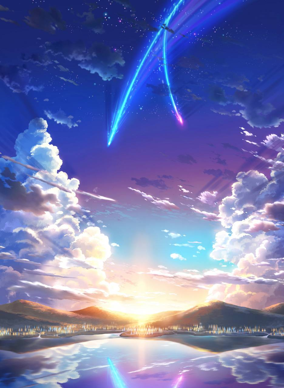 Your Name wallpaper by nozomiproducer