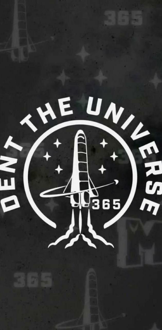 Sent the universe