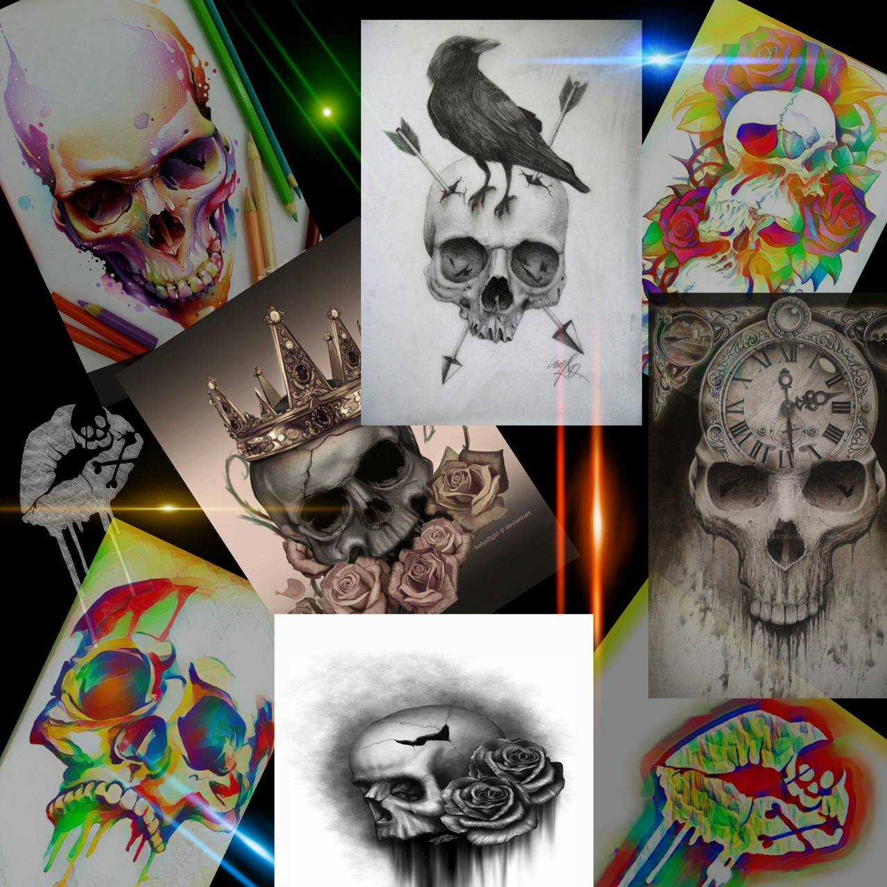 Skull collection 1