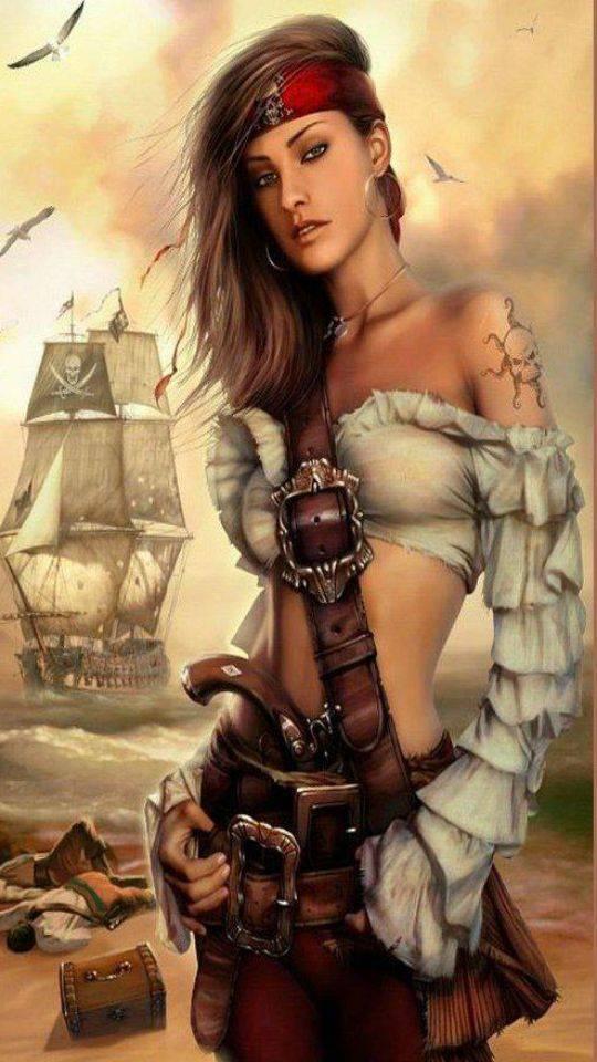 Pirate Fantasy Art