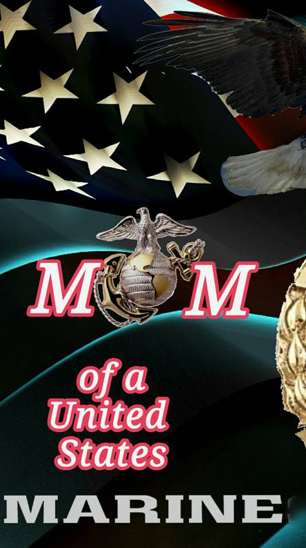 Proud mom of marine