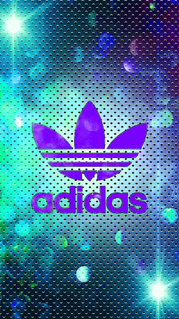 Adidas glowing light