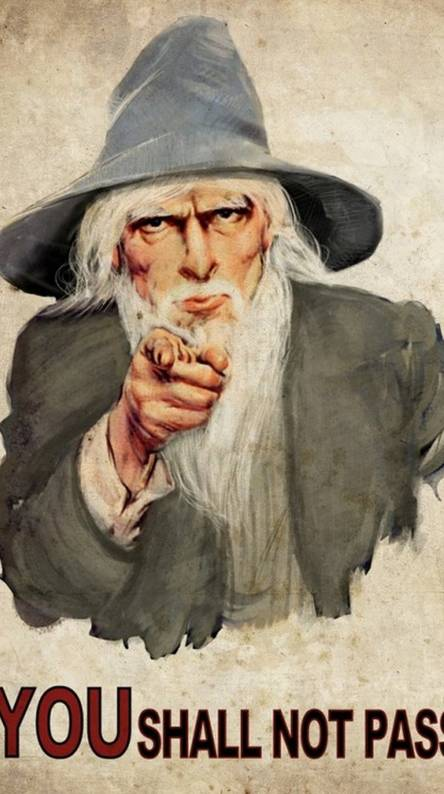 You Shall Not Pass Ringtones And Wallpapers Free By Zedge