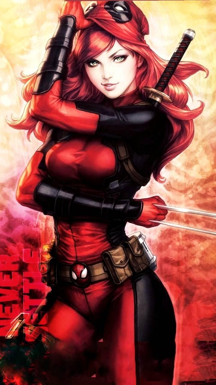 Lady Deadpool Wallpaper By Heroarpit C5 Free On Zedge