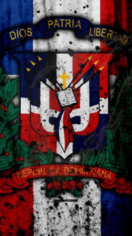 Bandera Republica. Creo dominicana
