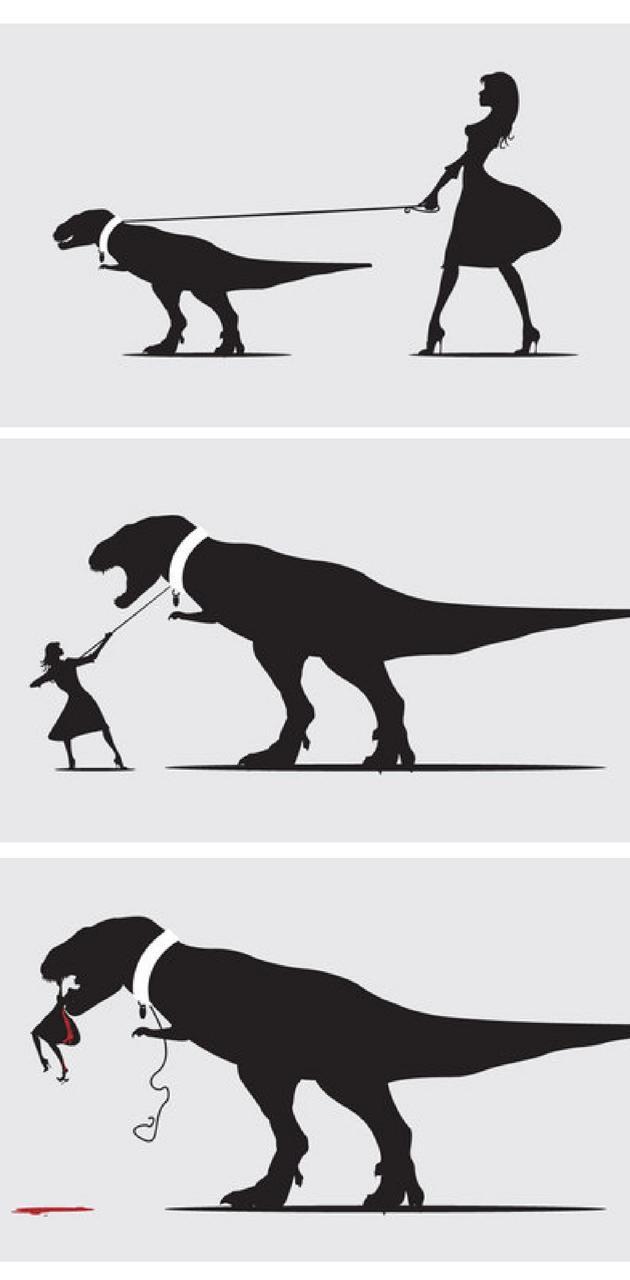 Walk the T Rex