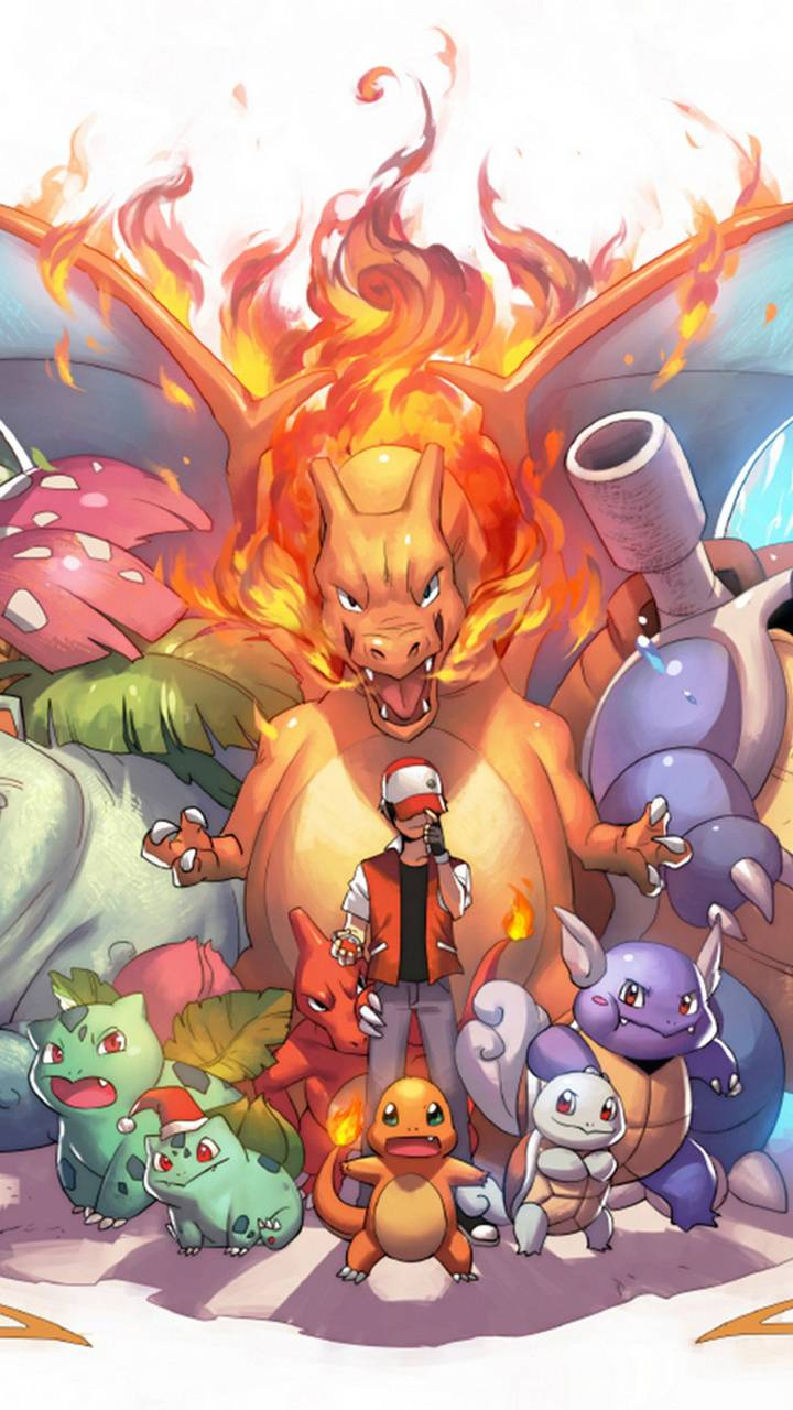Ash and the pokemon