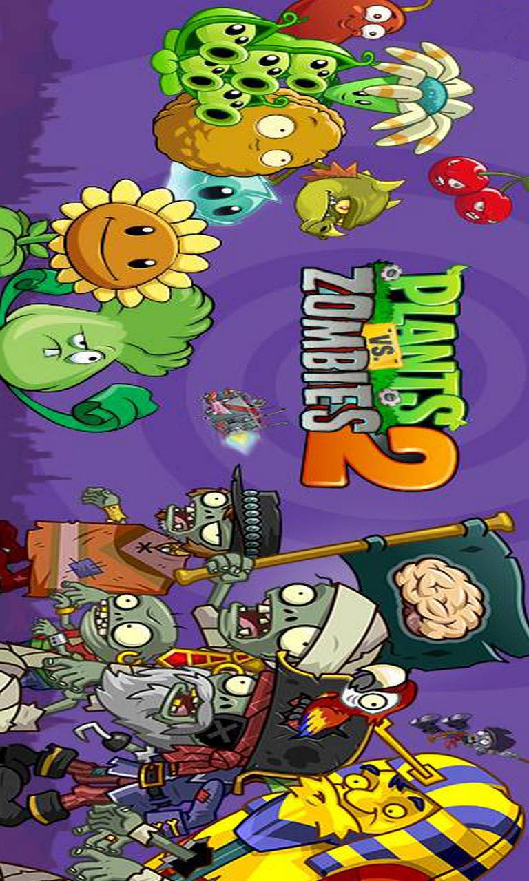 Plants Vs Zombies 2 Wallpaper By Iontravler A6 Free On Zedge