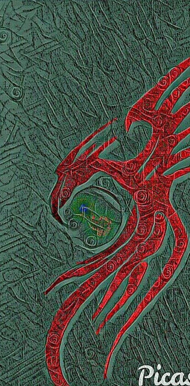 dragon red green