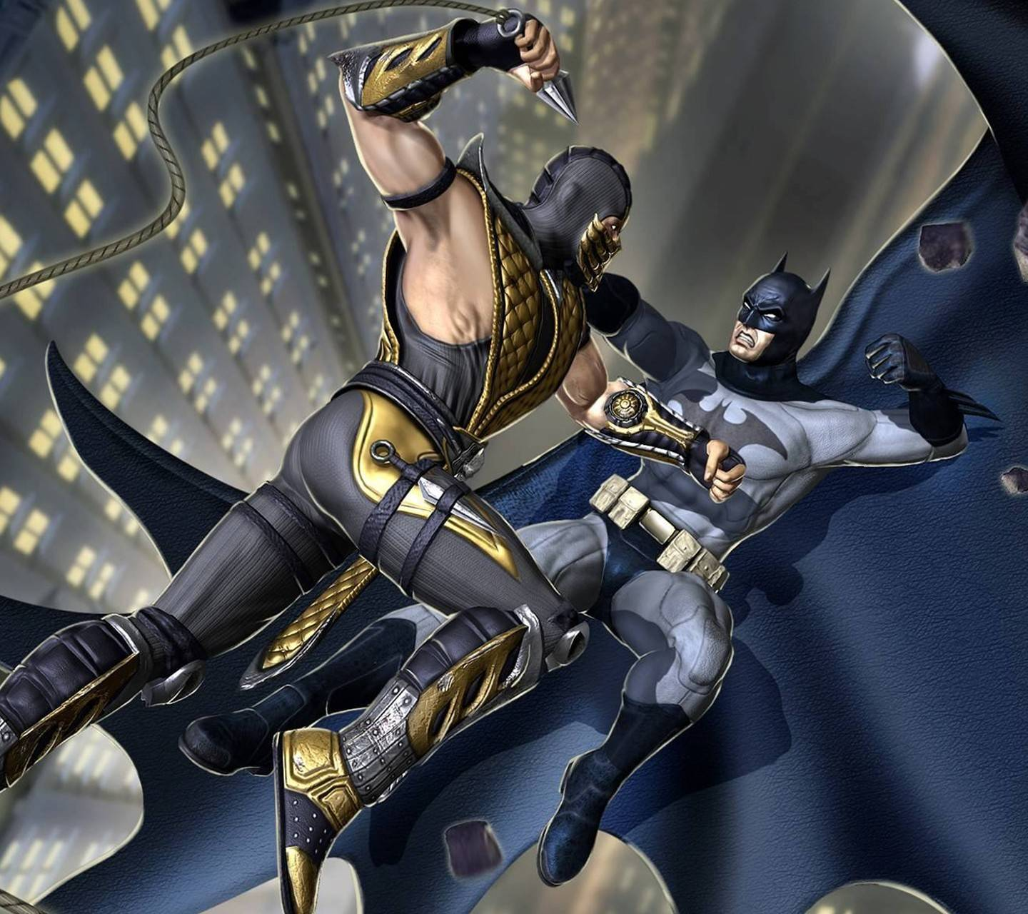 Scorpion vs Batman