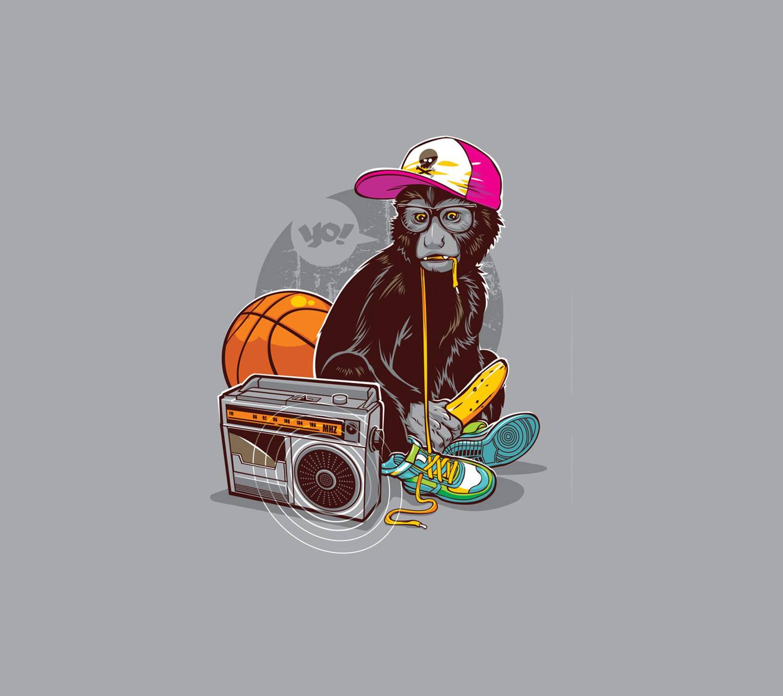 monkey wimp