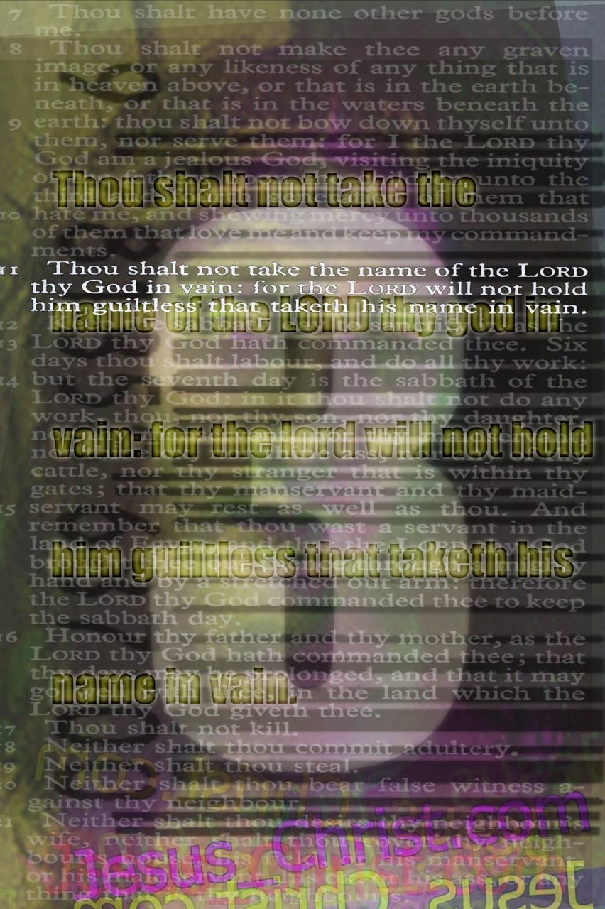 3rd Commandment
