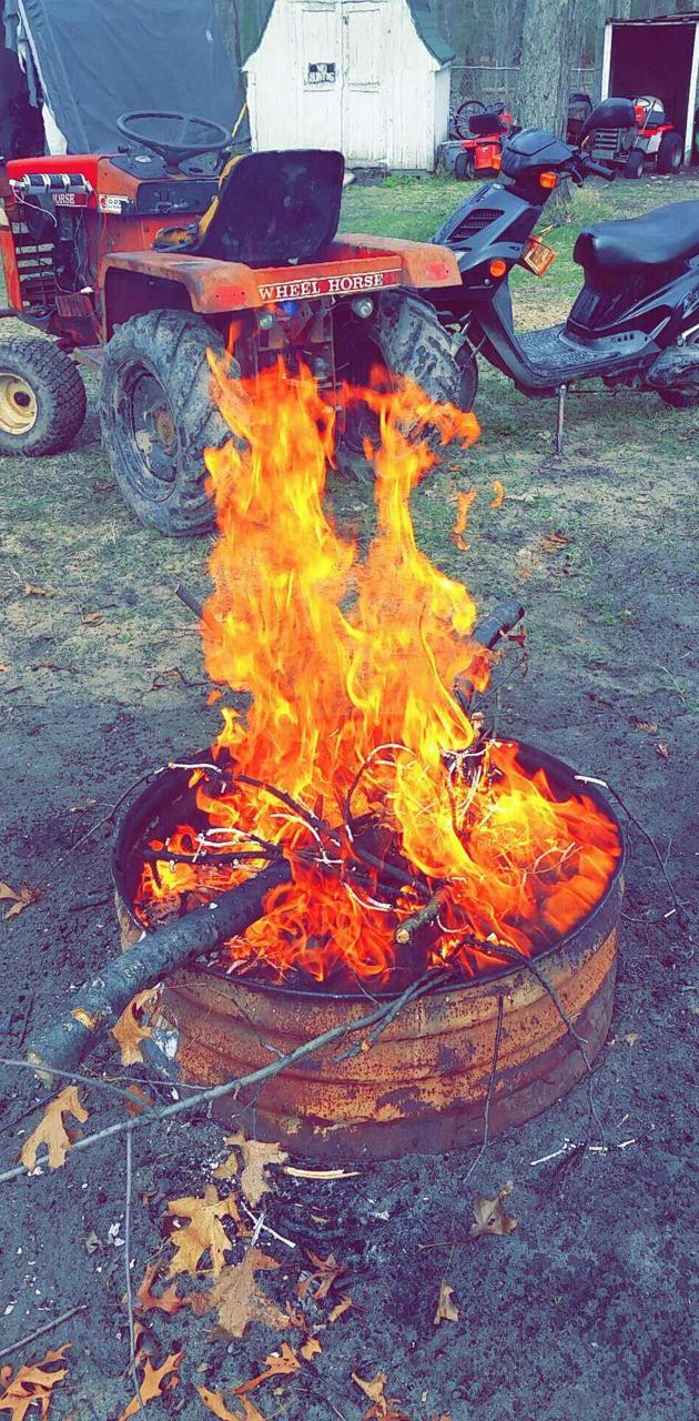Outback fire