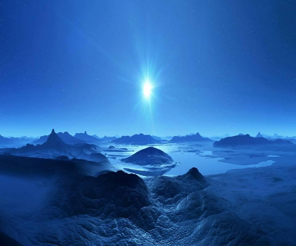 Arctric Blue Sunrise