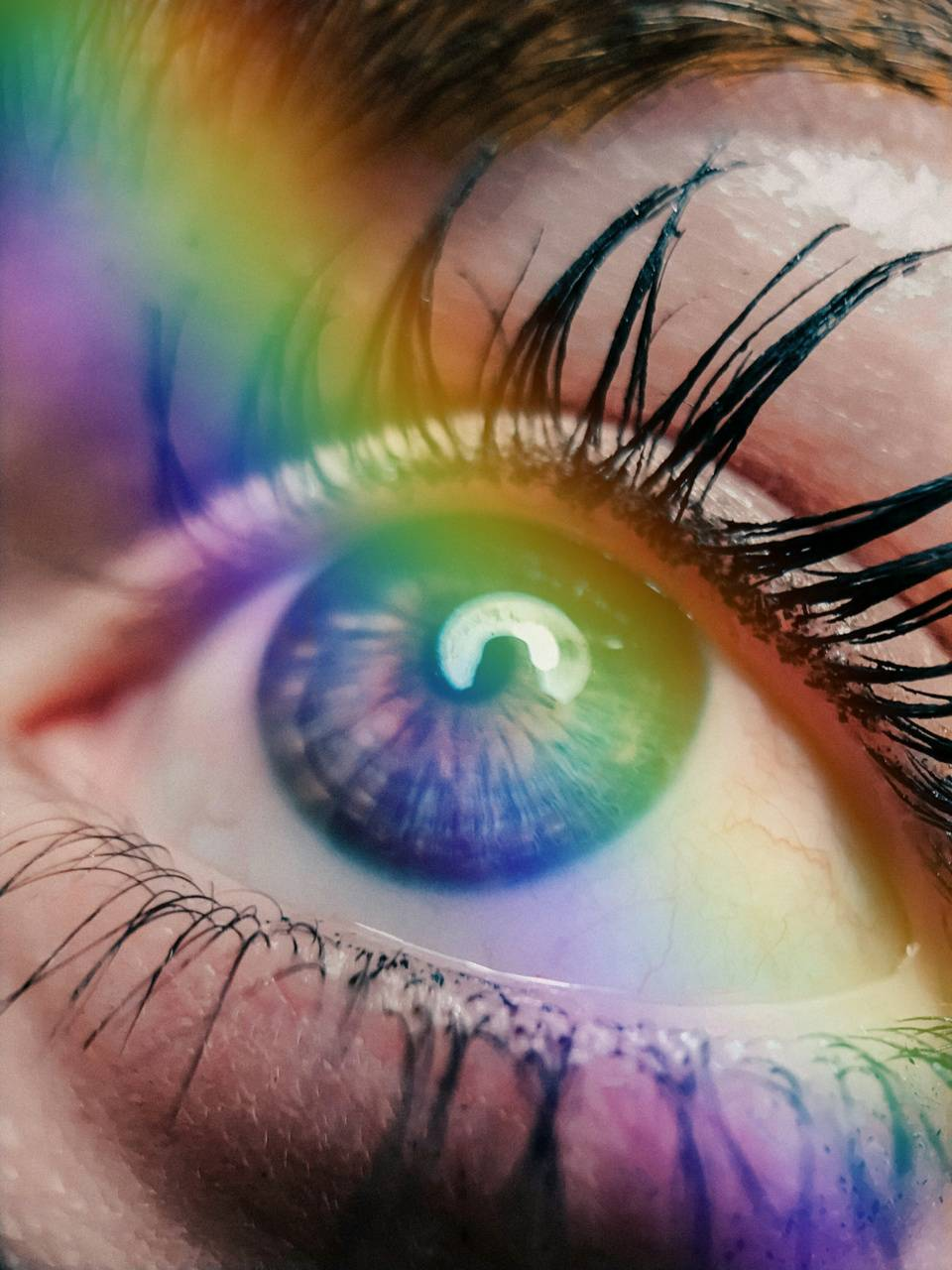 Eye from the rainbow