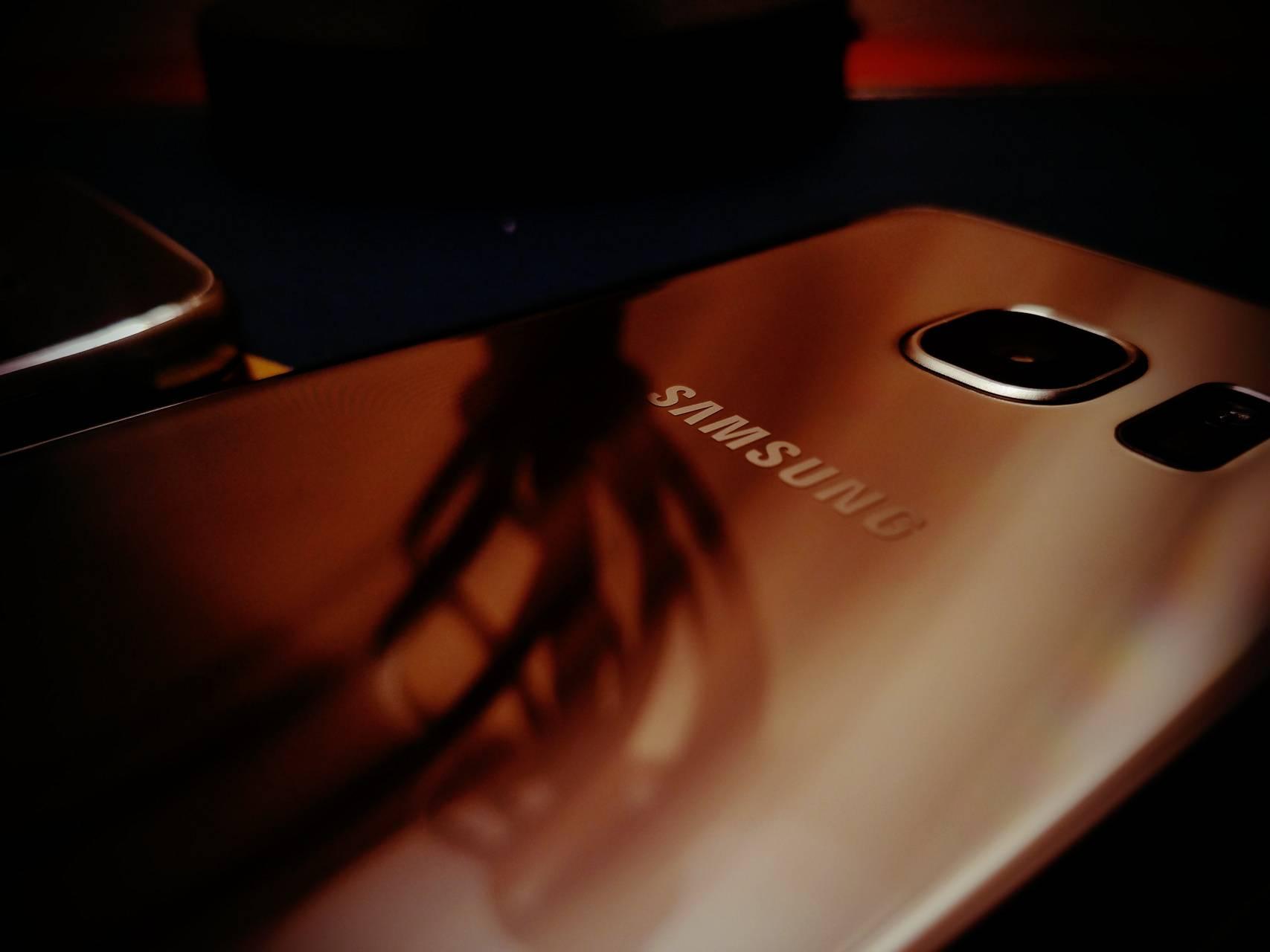 Gold Samsung Galaxy