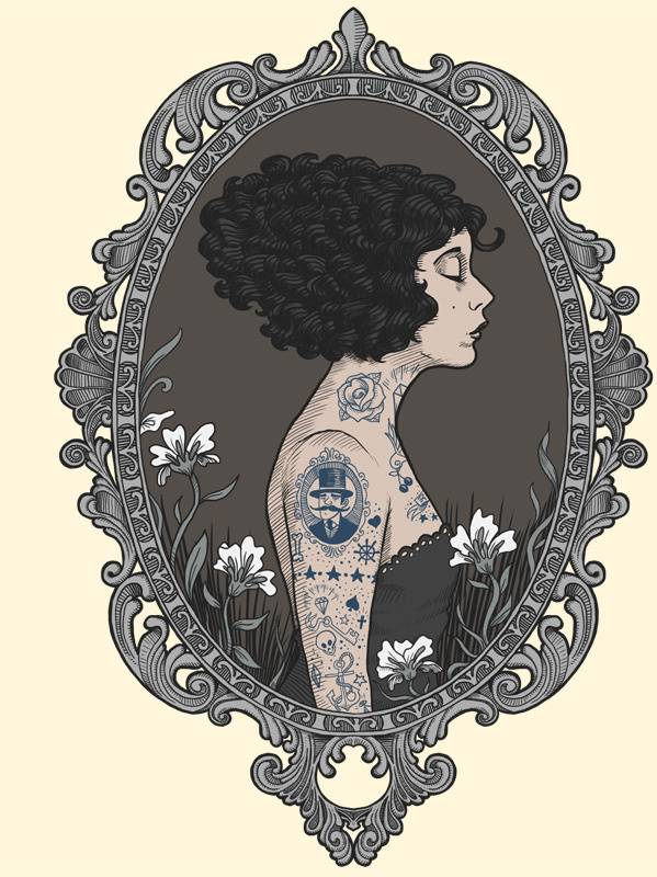 La Femme Tatoue