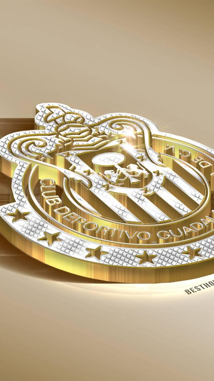 Chivas logo en oro