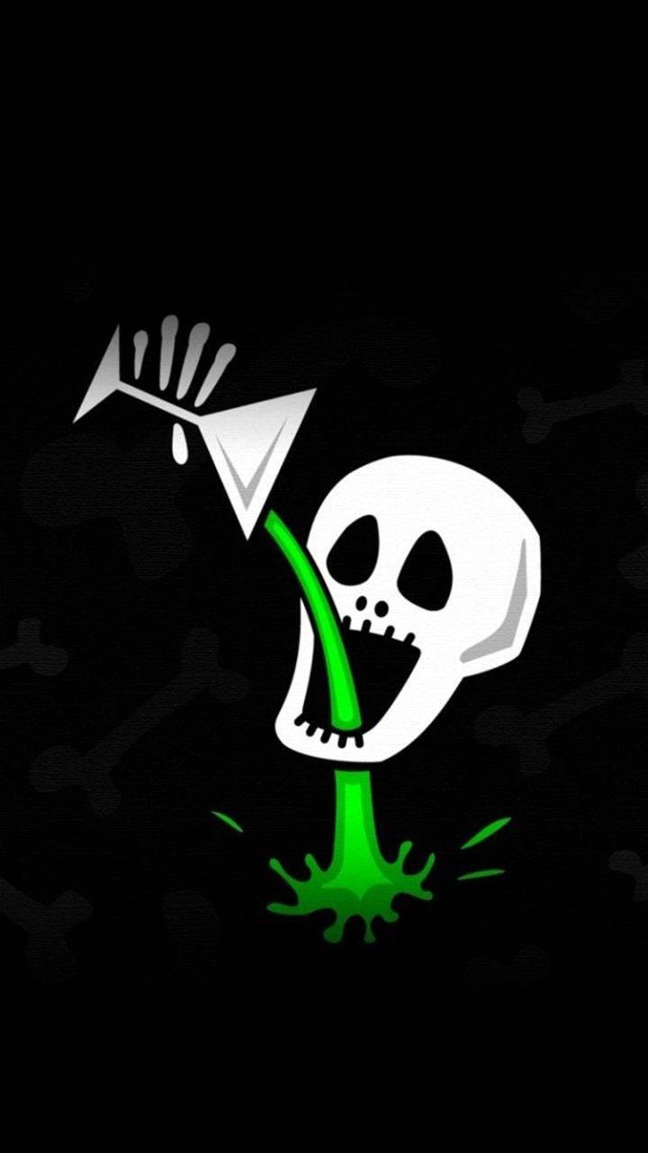 Skull drink