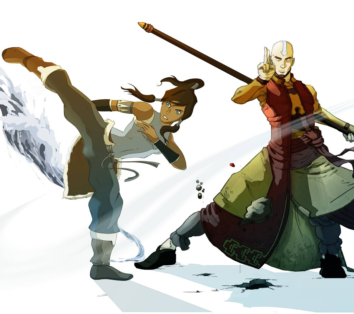 Aang And Korra Wallpaper By Willkomme C7 Free On Zedge