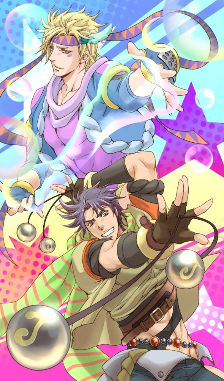 Battle Tendency Wallpaper By Jojo 4 U 64 Free On Zedge