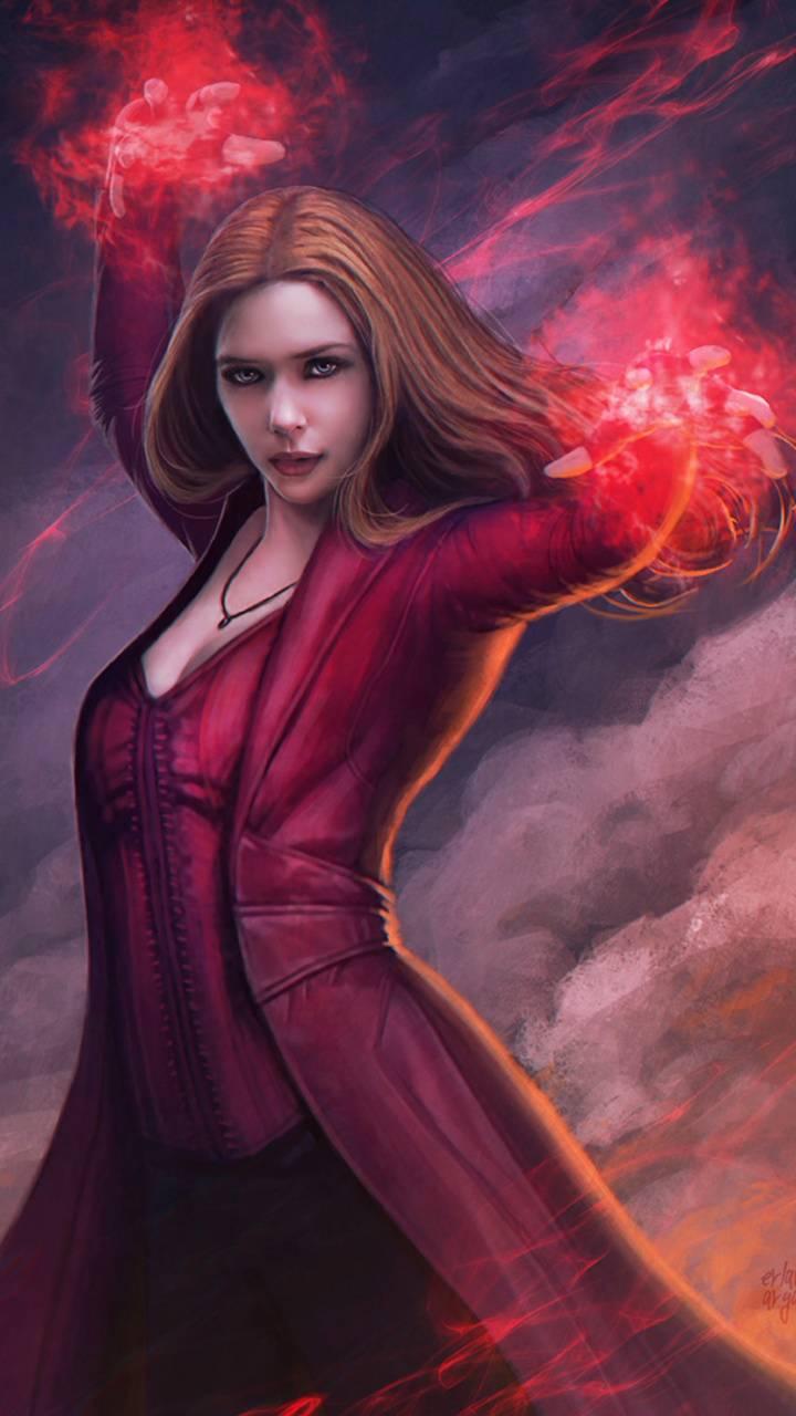 Scarlet Witch Wallpaper By Georgekev 4b Free On Zedge