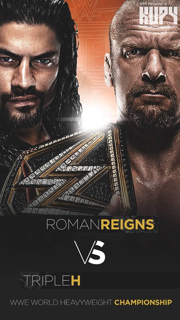 Triple H VS Reigns