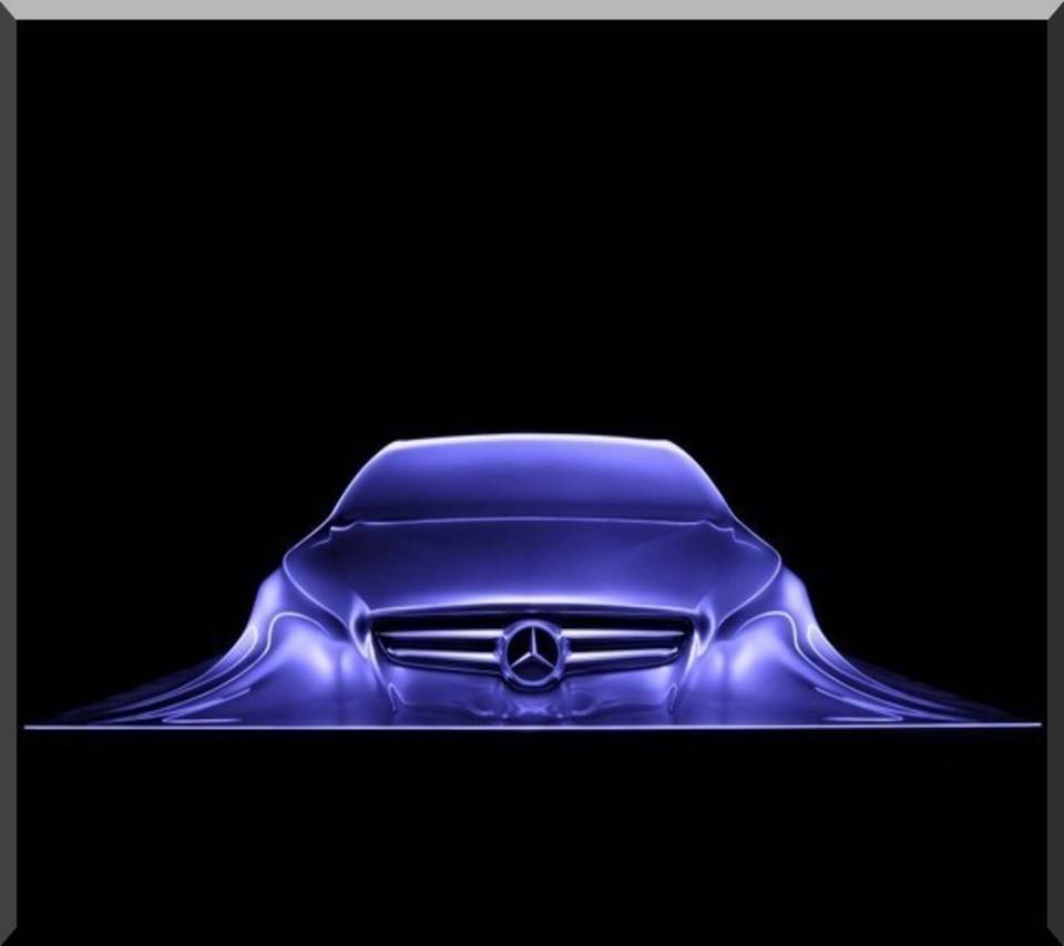 Mercedes Abstract