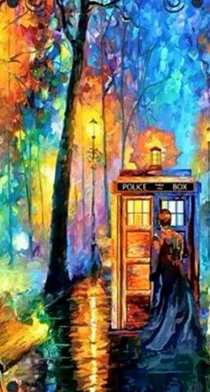 Doctor Who Abstract