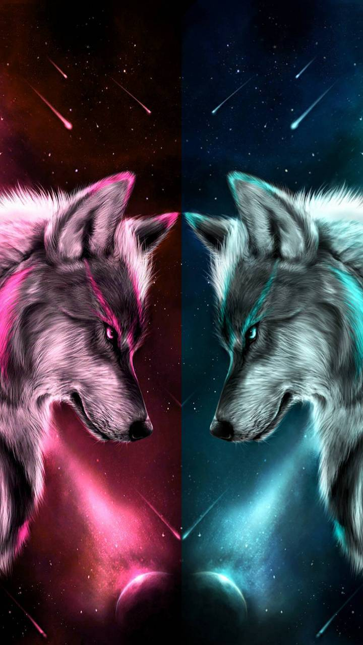 Neon Wolf Wallpaper By Yoonbum400 Bc Free On Zedge