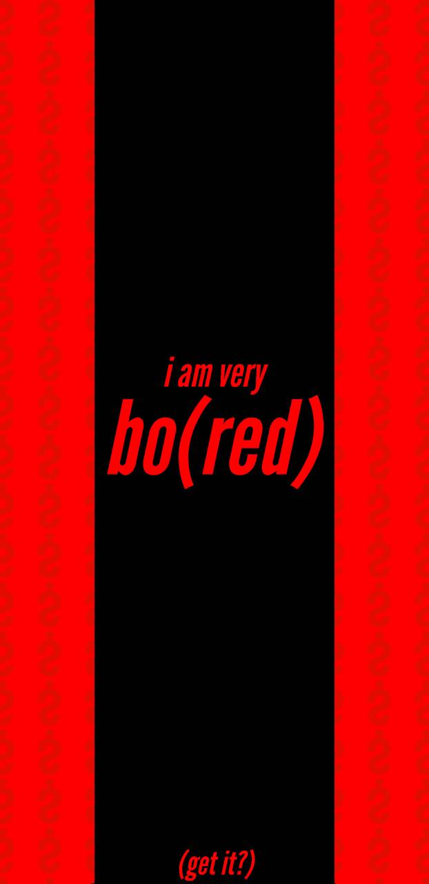 Bored Red