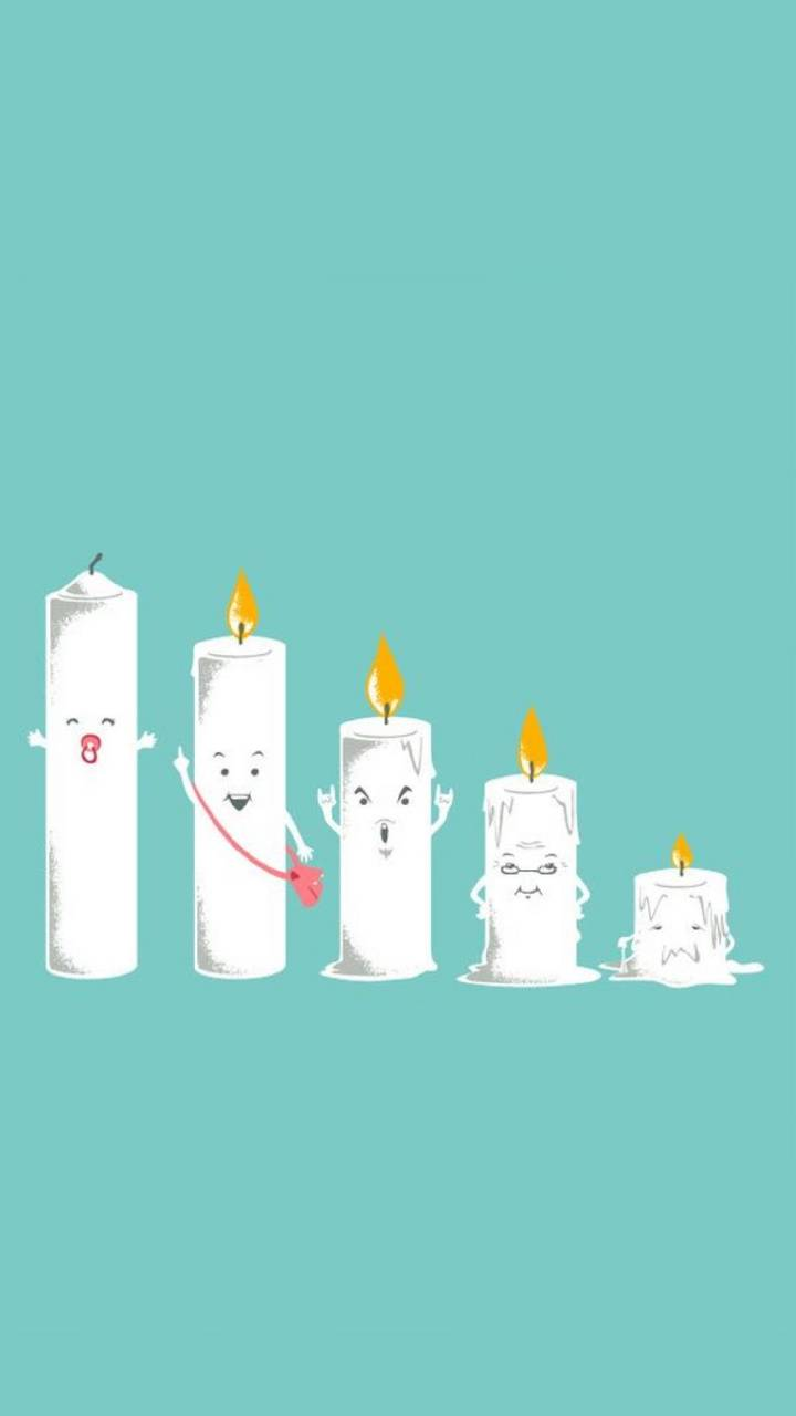Life of a candle