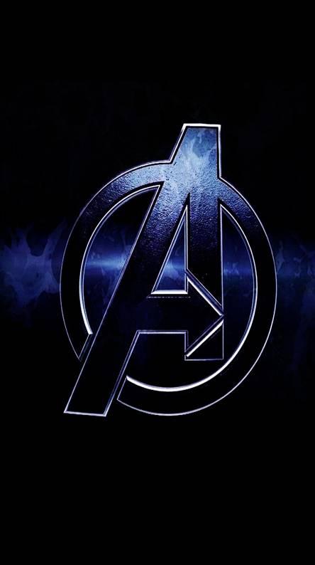 Avengers wallpaper android - Avengers a logo 4k ...