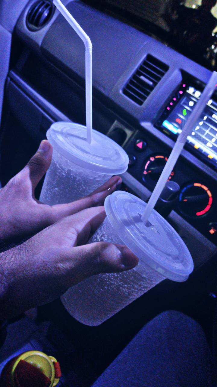 Drink in car