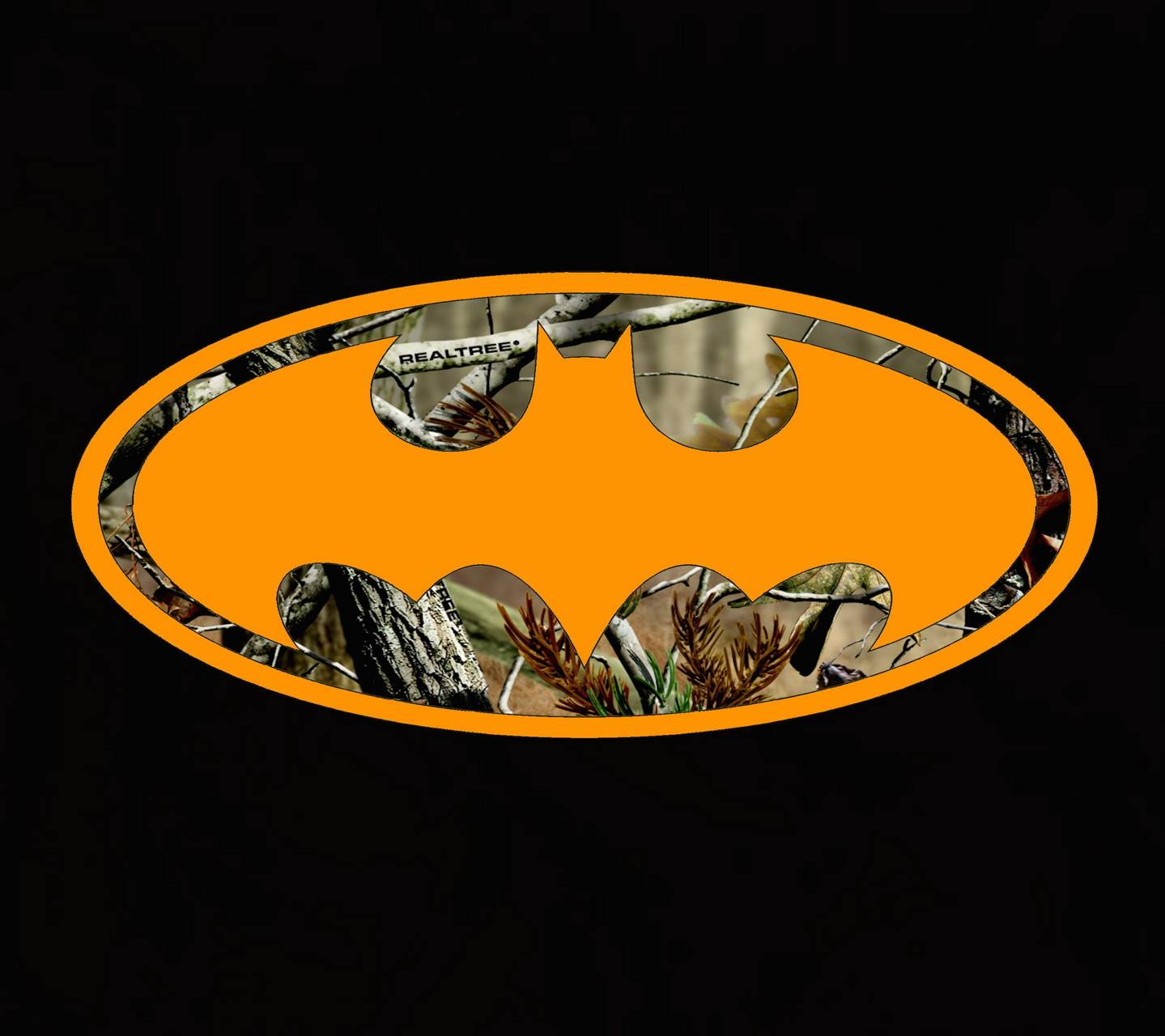 Camo Batman Logo