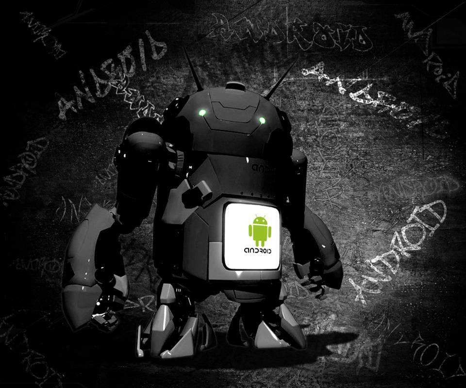 Android Bot Green