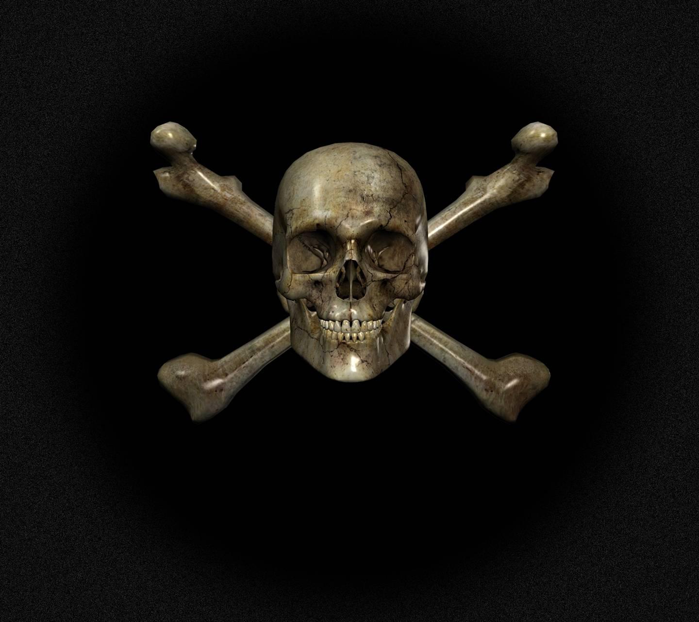 Skull 3D Wallpaper By Dudeski1988