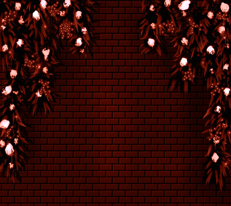 Bricks Flowers 5