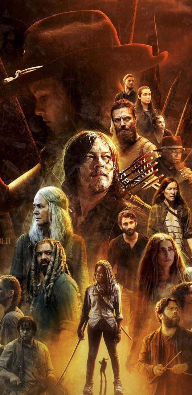 The Walking Dead Wallpaper By Criistian19 E8 Free On Zedge
