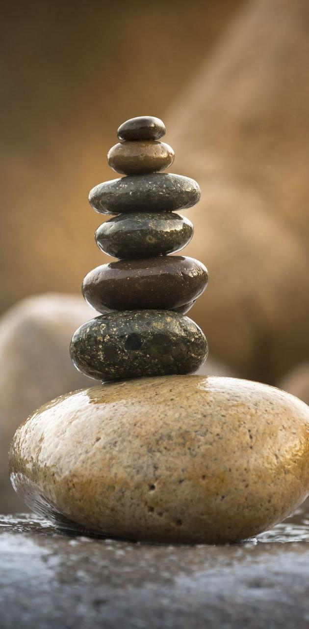 balance wet stone