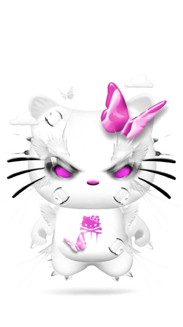 Hello Kitty Dark Wallpaper By Konig 0d Free On Zedge