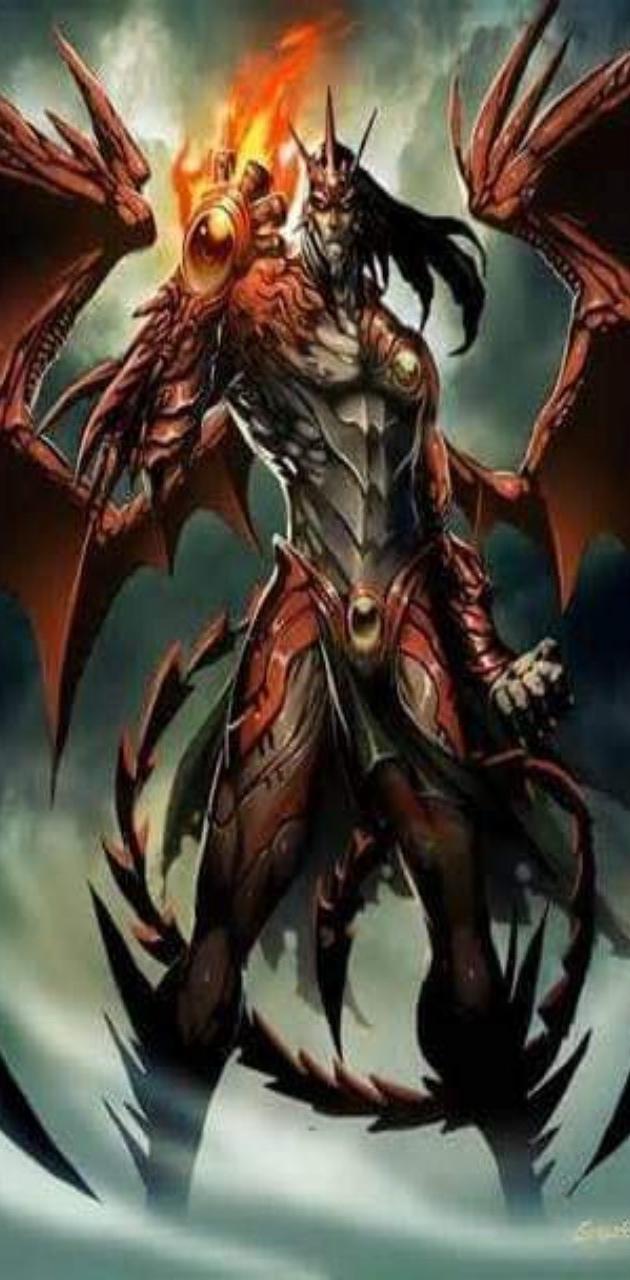 Humanoid Dragon King