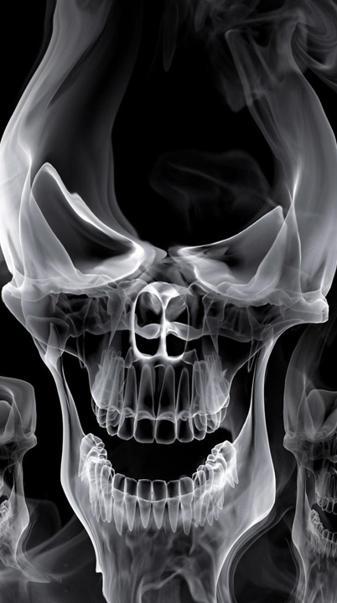 Smoke Skull