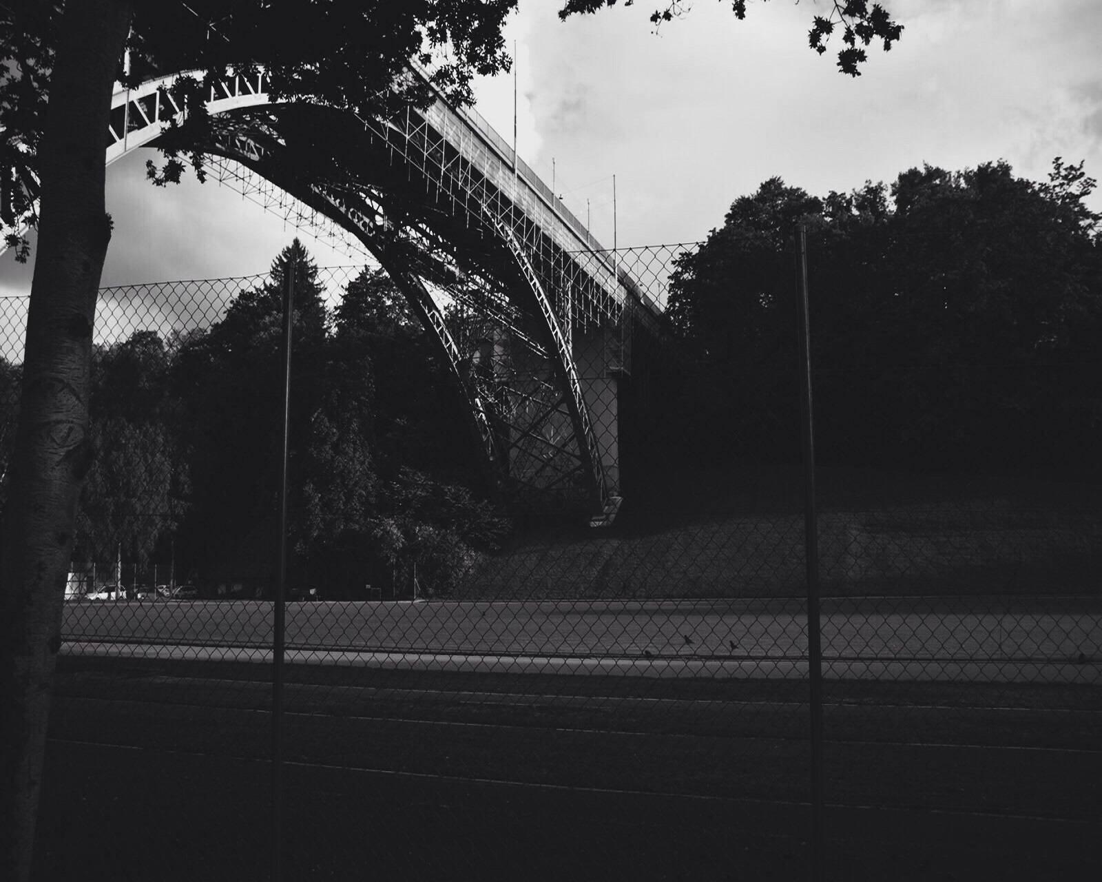 Bridge of train